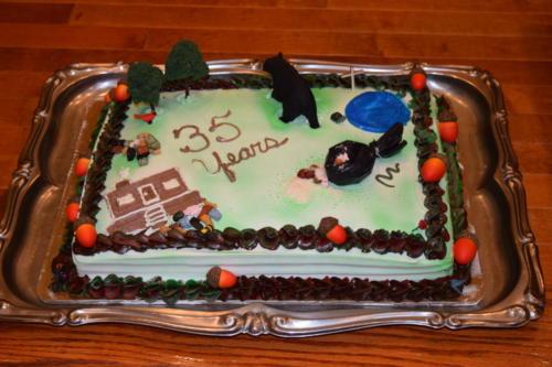 Black Bear Cake